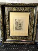 JOHN SLOAN Etching Copyright 1903 by Frederick Quinby..