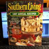 Southern Living 1997 Annual Recipes Hardcover Cookbook