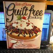 Taste of Home's Guilt Free Cooking Recipes Hardcover...