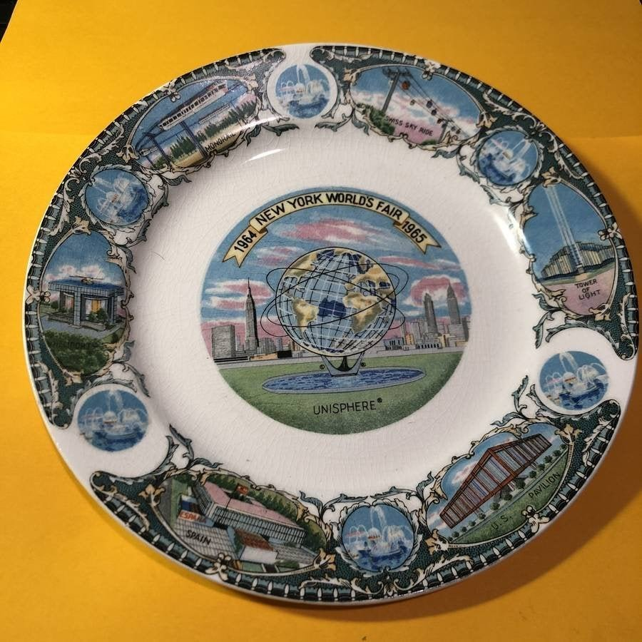 "1964/65 New York World's Fair 7"" Collector's Plate..."