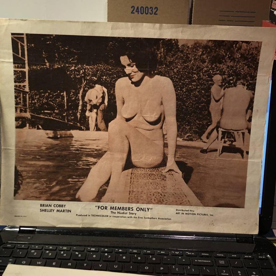 Nudist vintage Vintage: 16982