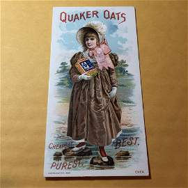 Victorian Trade Card #105 as Pictured. FREE SHIPPING!
