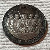 Germany Silver Medal 300th Anniversary Of Protestation.
