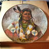 HAND SIGNED by Gregory Perillo Chief Joseph Plate