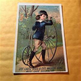 Victorian Trade Card #288 as Pictured. FREE SHIPPING!