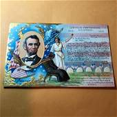 EARLY 1900s PATRIOTIC POSTCARD LOT586 AS PICTURED