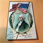Early 1900s Patriotic Postcard 303 as Pictured