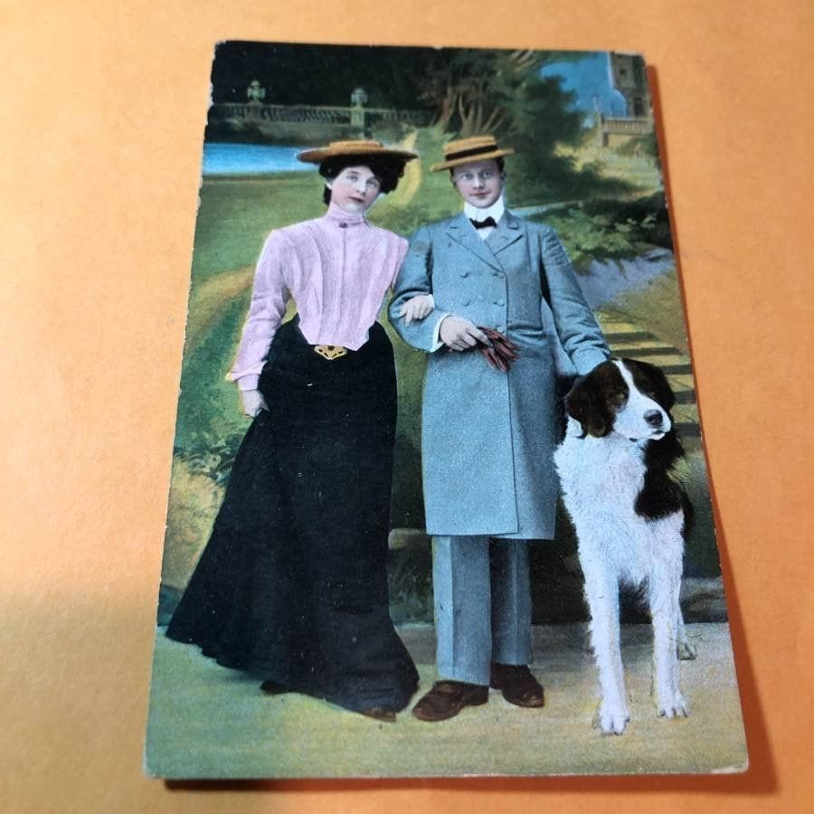 Early 1900's European Postcard #208 as Pictured..