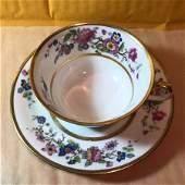 VINTAGE LIMOGES C. AHRENFELDT TEA CUP & SAUCER SET ...