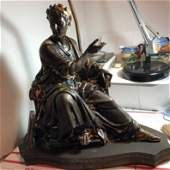 FEUCHERE, Jean Jacques, (French, 1807-1852): Bronze...