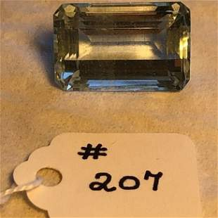 Loose Aquamarine 60.3 Carats TW Emerald Cut Shape...