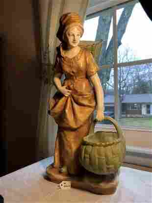 Antique 1900's Scarce Austrian Turn-Teplitz Amphora...