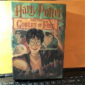 Harry Potter and the Goblet of Fire by J.K. Rowling 1st