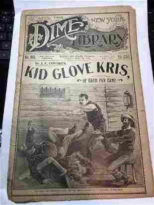 The New York Dime Library Vol-76 #983 Buffalo Bill Edit