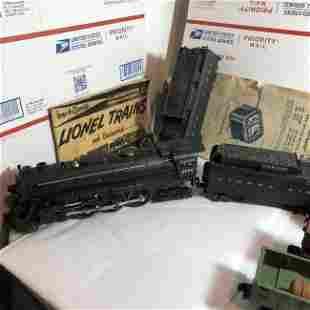 Lionel 2055 Vintage O Guage Hudson Steam Locomotive.+++