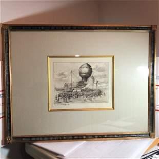 Pierre Albert LeRoux French 1890-1959 Etching/Engraving
