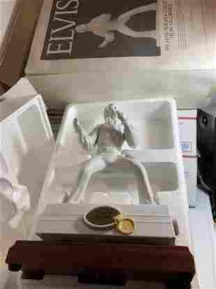 Elvis Presley Designer Collection Porcelain Decanter...