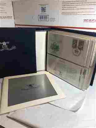 1977 (56) First Day Covers Album 25th Year Coronation..