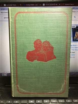 Pinocchio by Collodi, C. J. G. Ferguson 1939 Hardcover