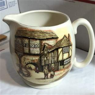 English Ware L & Sons Hanley England The Jolly Drover..