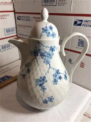 Vintage Scherzer Bavarian Dainty Coffee Pot 9.75in Tall