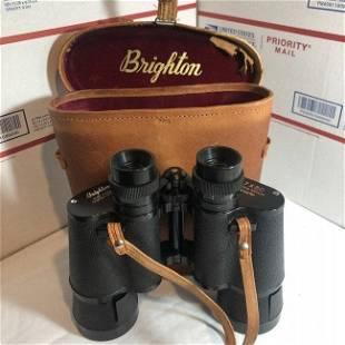 Vintage Brighton Binoculars w/Fully Coated Optics 7x50