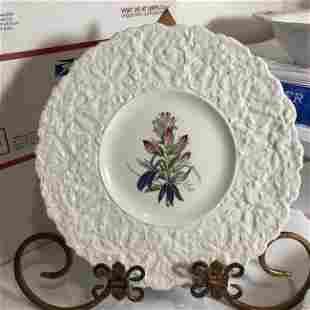 7-Vtg Different Royal Cauldron Woodstock Dinner Plates