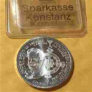Germany 1992-D 10 Mark 150th Anniversary Silver Coin...