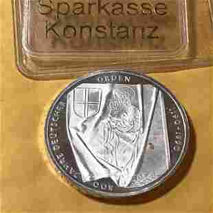 Germany 1990-J 10 MARK Silver 800 Year Anniversary Coin