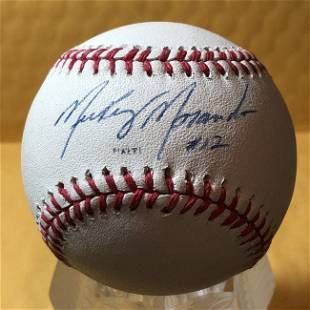 MICKEY MORANDINI Autographed Baseball as Pictured...