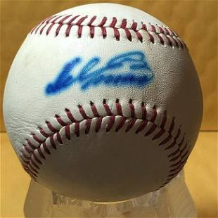 DEL ENNIS Autographed Baseball as Pictured...
