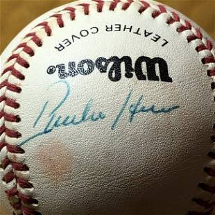 PHILADELPHIA PHILLIE Autographed Baseball as Pictured.