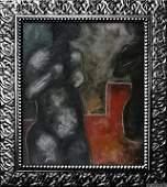 """Nicaraguan Master Armando Morales - Oil Canvas """"Nudes"""""""