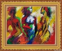 CORNEILLE - Rare Oil Canvas painting Expressionism