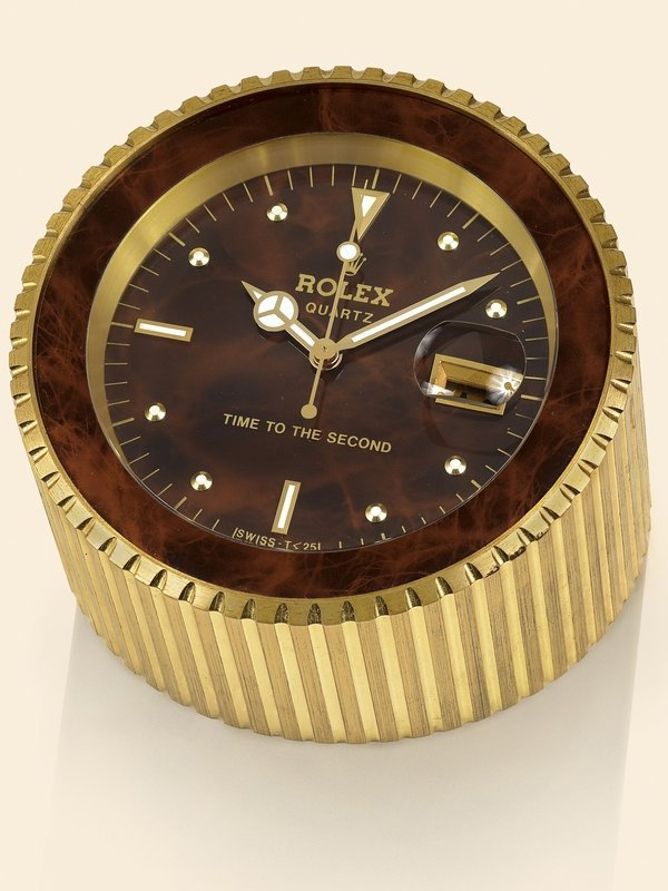 "4: Rolex, ""Time to the Second"", Ref. 455 Made 1985."