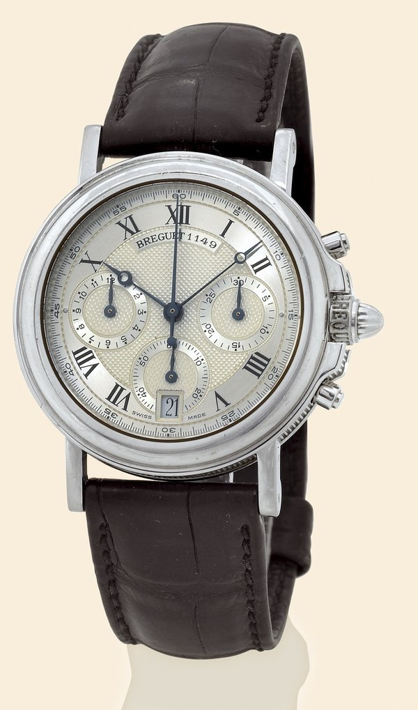 11: Breguet, Ref. 3460. Made in the 1990s, platinum.