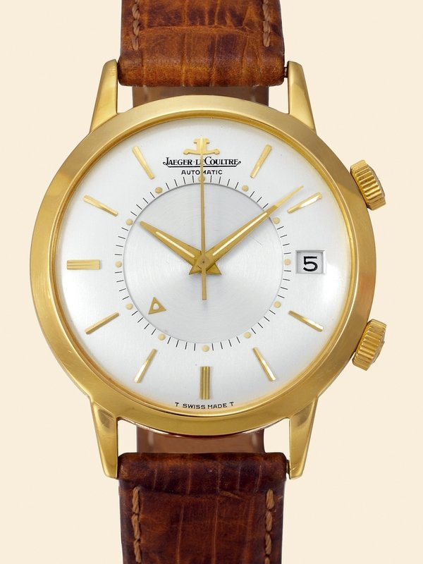 17: Jaeger-LeCoultre, Ref. 855. 18K yellow gold.