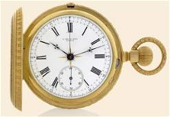 135 P Orr  Sons 18K yellow gold pocket watch