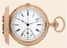 151 Jean Pourrat 18K pink gold pocket watch
