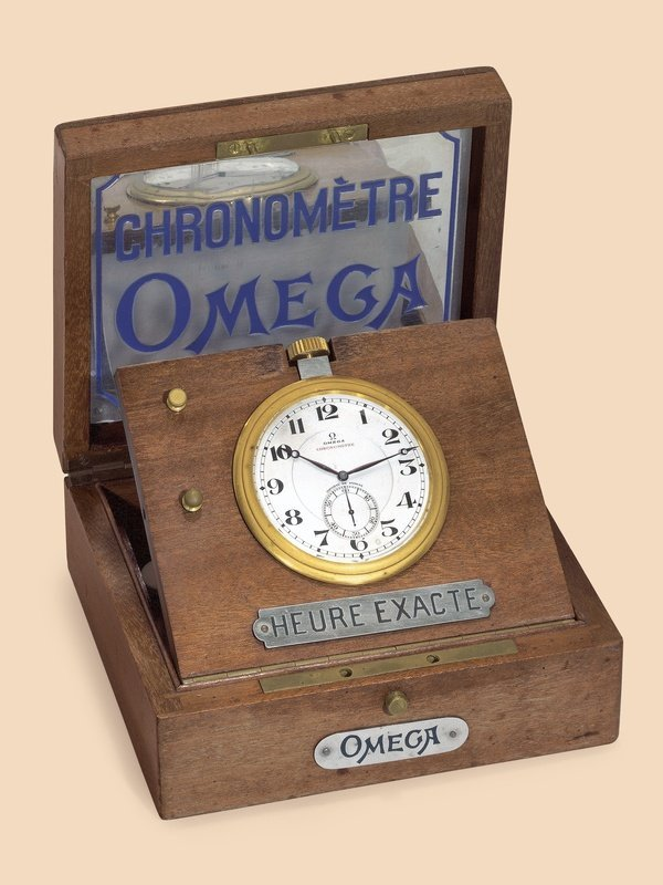 4: Omega, Chronomètre – Heure exacte display clock
