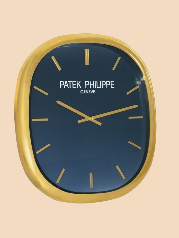 8: Patek Philippe Large Ellipse d'Or Wall Clock