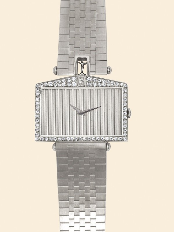 13: Corum, Rolls Royce 1980 diamond-set 18K w. gold