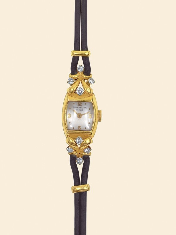 15: Patek Philippe 1951diamond-set 18K yellow gold