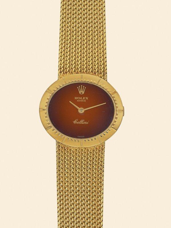17: Rolex, Cellini, Ref. 4081. lady's wristwatch