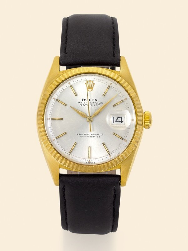 18: Rolex, Datejust, Ref. 1601 18K yellow gold