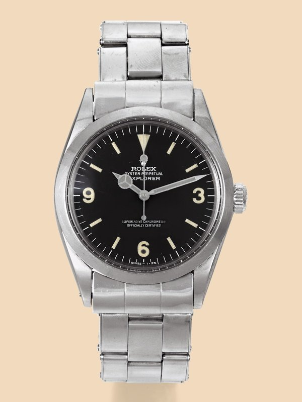 22:  Rolex Explorer Ref. 1016 in Stainless Steel