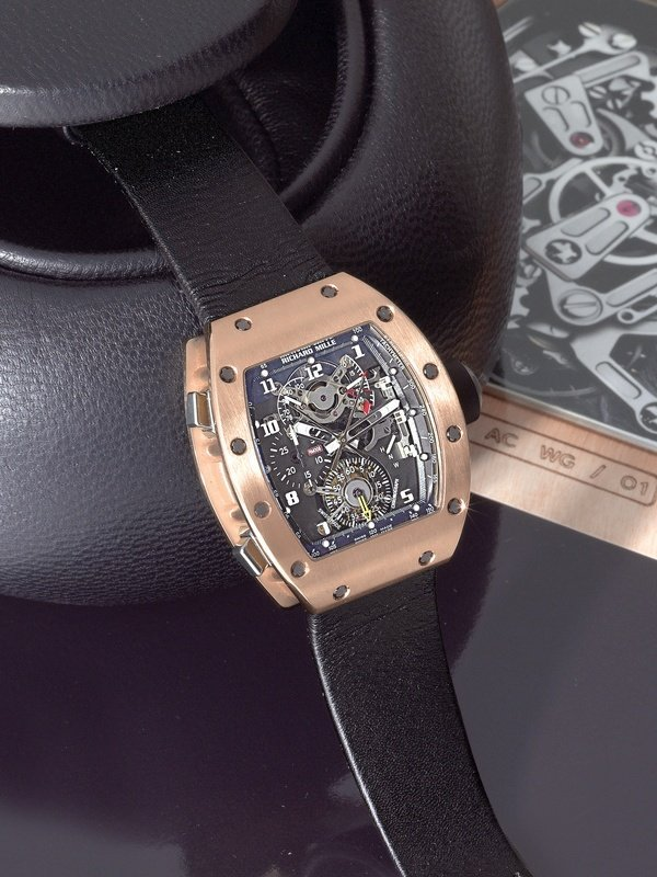 108: Richard Mille RM008 Tourbillon Split Second Pink