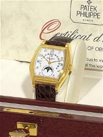 288:  Patek Philippe Ref. 5013 in Yellow Gold