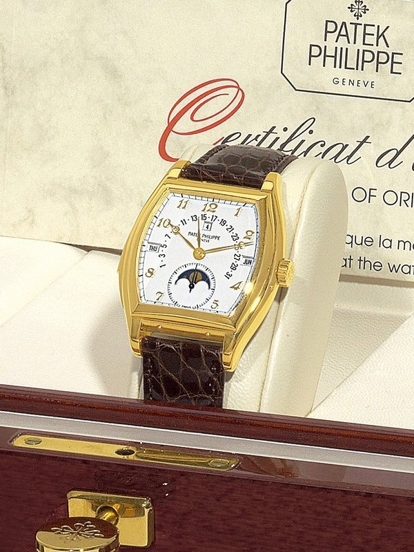 288:  Patek Philippe Ref. 5013 in Yellow Gold