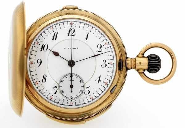 9: E. Mathey Min. Repeating Chronograph Pocketwatch